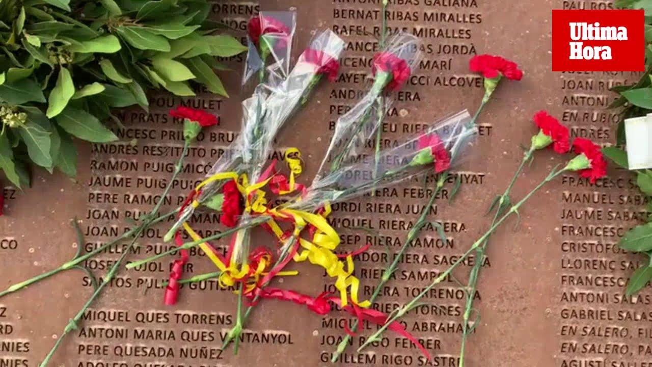 Conmemoración del 24F bajo la alerta por las pintadas contra Emili Darder y Aurora Picornell