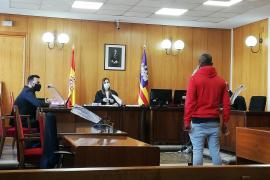 Condenado por agredir en Palma a un policía durante el confinamiento
