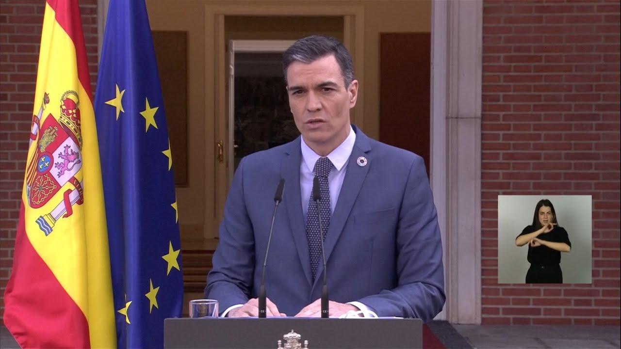 Sánchez asegura sentir «rechazo» ante la conducta «incívica» del Rey emérito