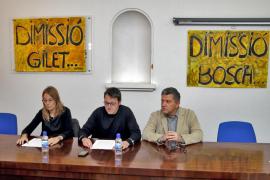 Artistas y gestores culturales piden la dimisión de Bosch, Rotger y Gilet
