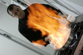 Miquel Vicens, cocinero de Can Calent