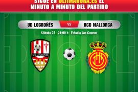 Así ha sido el Logroñés-Real Mallorca
