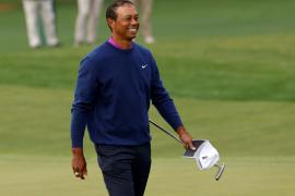 Tiger Woods se encuentra «de buen humor» en el inicio de su recuperación