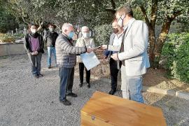 Oliver, Marquet y Castañer, asesinados por los falangistas, ya reposan en Pollença