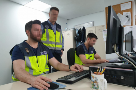 La policía detecta una oleada de estafas de ciberdelincuentes a empresas de Palma