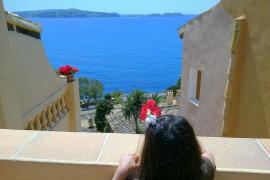 es azul el mar !