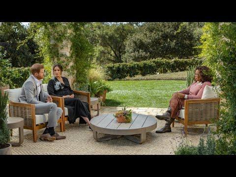 Meghan Markle y Enrique: primeras imágenes de su esperada entrevista con Oprah