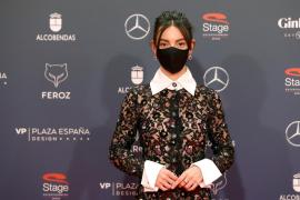 Mallorca, en los Premios Feroz con Vicky Luengo y Samantha Hudson