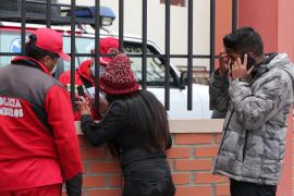 Siete estudiantes mueren al caer de un cuarto piso en Bolivia
