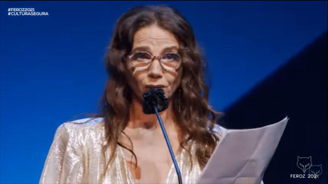 Victoria Abril pide perdón a los familiares de los fallecidos por la COVID