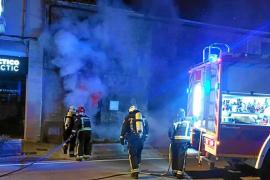 La casa incendiada en Alcúdia estaba okupada