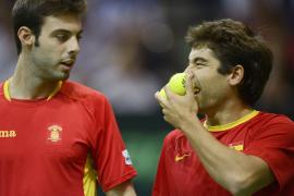 La República Checa  asesta un golpe a España en el dobles