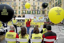 Amnistía Internacional recoge firmas en Palma contra la pena de muerte