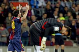 Messi marca la diferencia y guía al Barça a su undécima victoria en doce partidos