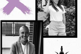 Virginia Torrecilla celebra su último día de quimioterapia