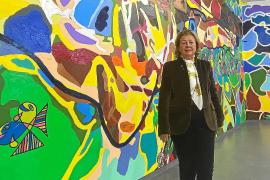Mayte Spinola: «La obra de Mesas no es un grafiti, pero algunos no lo entienden»