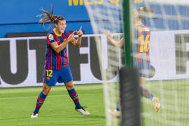 La mallorquina Patri Guijarro firma uno de los goles de 2021