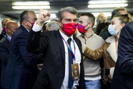 Laporta asume la presidencia del Barça y Alemany toma posiciones