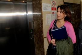 Una imputada exculpa a Aina Castillo y el fiscal le pide una fianza de 169.000 euros