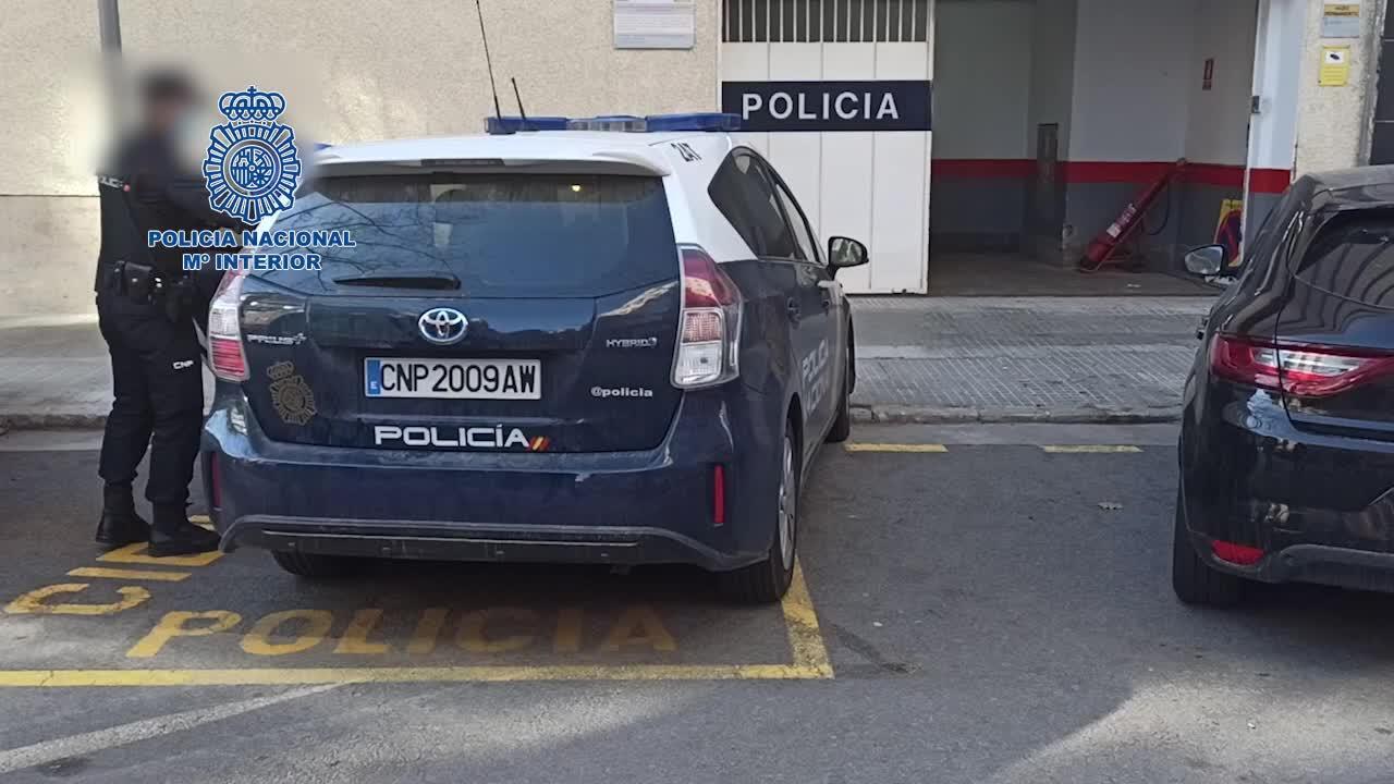 Prisión para dos ladrones por asaltar con extrema violencia y robar un reloj a un turista en Palma