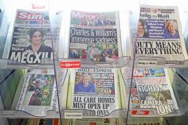 La casa real británica se muestra «triste y preocupada» por el sufrimiento de los duques de Sussex