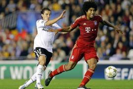 Un diezmado Valencia tuteó al Bayern