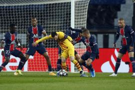 El Barcelona empata en París y cae eliminado en la Liga de Campeones