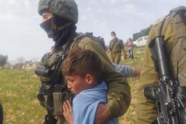 Detención de niños palestinos