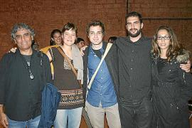 Juan Montes de Oca, Miren Garayalde, Javier Mazuelas, Mario Figueroa e Irene Sala.