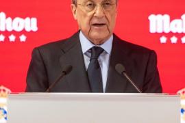 Florentino Pérez envía sus condolencias al Palma Futsal