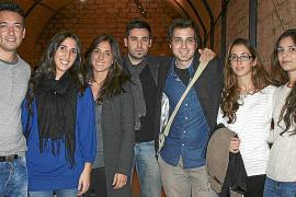 Joan Barceló, Patricia García, Cati Bosch, Xisco Vidal, Javier Mazuelas, Amparo Gomila y Laura Perelló.
