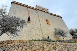 Biniamar repara el templo que soñó Antoni Maura
