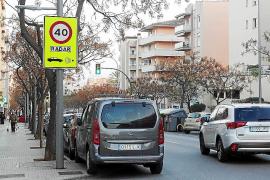 El Camí dels Reis es la vía en que se ponen más multas por exceso de velocidad