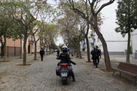 Arrestado por vender marihuana y 'caballo' en las calles de Son Gotleu