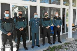 La Guardia Civil rinde honores al histórico subteniente Leiva