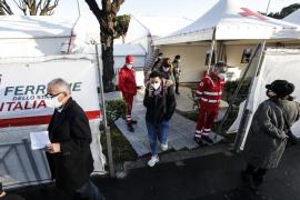 Italia informa de 15.267 contagios y 354 muertes por coronavirus en 24 horas