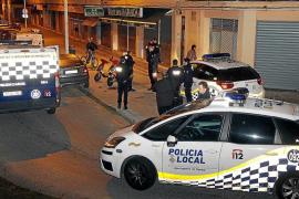 Tres detenidos, dos de ellos menores de edad, por robar varias motos en Palma