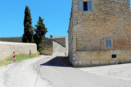 Las obras de la carretera de Selva a Campanet, iniciadas en 2015, siguen paradas