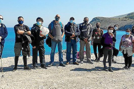 Los fondos solidarios de la torrentada en Artà se destinan a la limpieza de la costa virgen