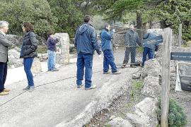 El Consell insta a Camins Públics a mantener las barreras existentes entre Lluc y Pollença