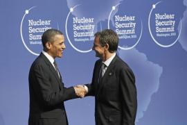 Zapatero pide más cooperación para evitar que los terroristas logren armas nucleares