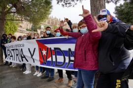 Manifestación en Palma