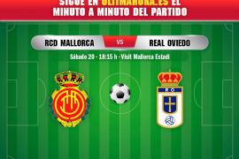 Real Mallorca-Oviedo, en directo
