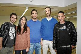 Javier Mazuelas, Patricia García, Ignasi Pons, Luis Pomar y Paulí Buchens Mir.