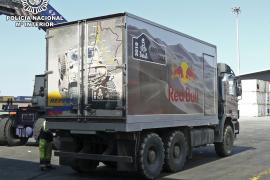 Intervenidos 800 kilos de cocaína en un camión «tuneado» para el rally Dakar destinados a Eivissa