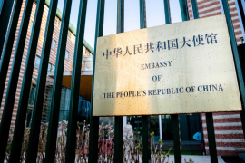 Exteriors of Chinese Embassy