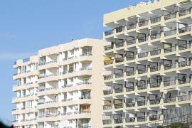 IBIZA - VISTA GENERAL DE VARIOS HOTELES EN IBIZA.