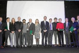 La cadena Cope celebró anoche la gala de los premios Populars