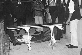 Helmut Heinz, un turista apuñalado en la Platja de Palma