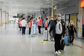 Numerosos pasajeros llegaron ayer a Ibiza desde Dusseldorf